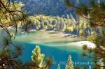 Emerald bay lake tahoe beach