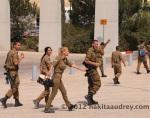 IDF soldiers at Yad vashem jerusalem