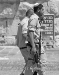 IDF soldiers in the old city Jerusalem