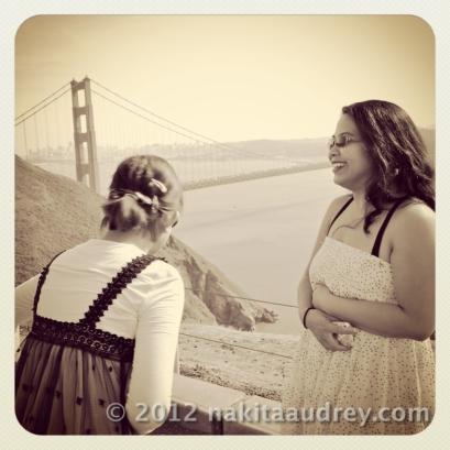 Golden Gate Bridge with a friend