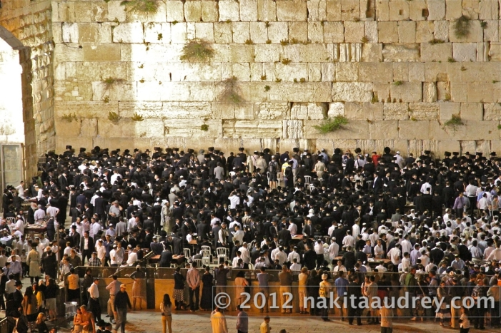 Sabbath in the western wall jerusalem_2