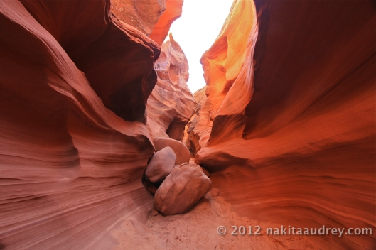 Upper antelope canyon arizona