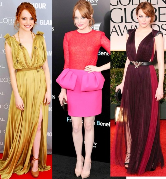 Emma stone fashion darling