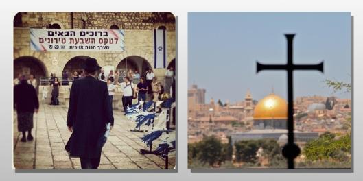 Passover and easter Jerusalem Israel