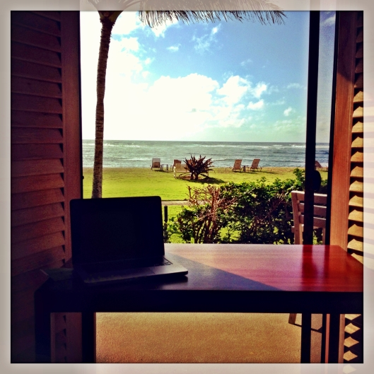 Beach front Courtyard Marriott Kauai Hawaii