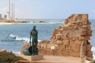Caesarea port, Israel
