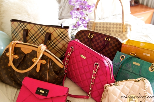 Kate Spade Louis Vuitton Burberry Cole Haan bags 2