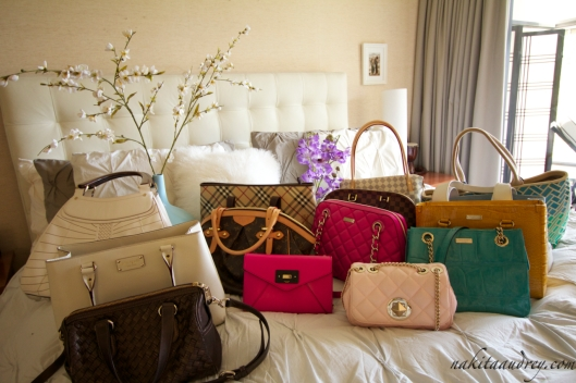 Kate Spade Louis Vuitton Burberry Cole Haan bags 3
