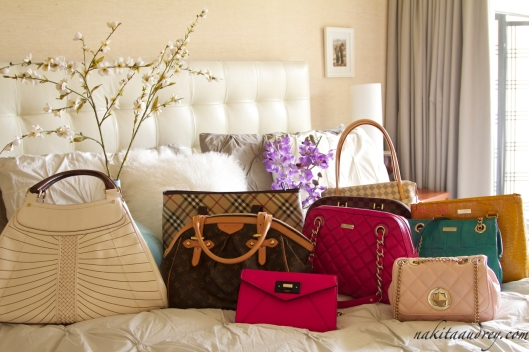 Kate Spade Louis Vuitton Burberry Cole Haan bags 4