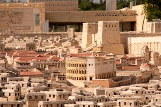 Second Temple model Jerusalem Israel 2