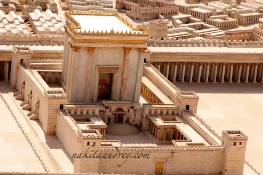 Second Temple model Jerusalem Israel