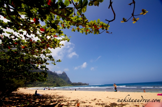 Tunnels Beach, Kauai Hawaii