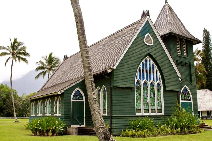 Waioli Huiia church kauai hawaii