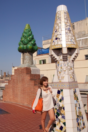 Palau Guell rooftop Barcelona 2