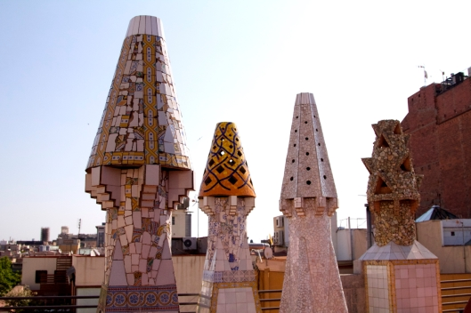 Palau Guell rooftop Barcelona 3