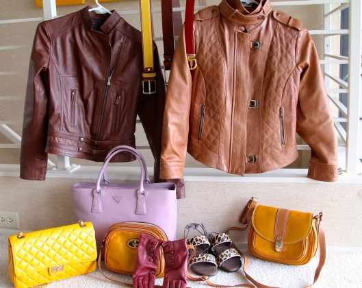 Leather goods from Florence and Italy