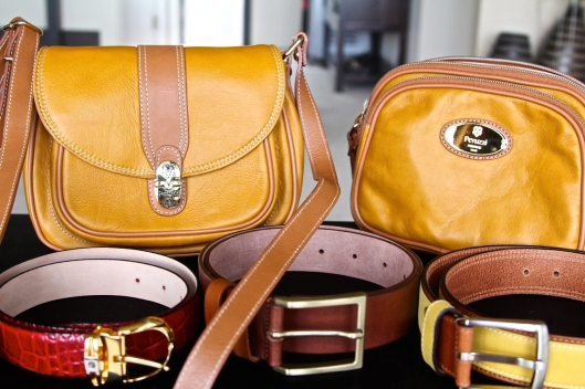 Peruzzi leather bags