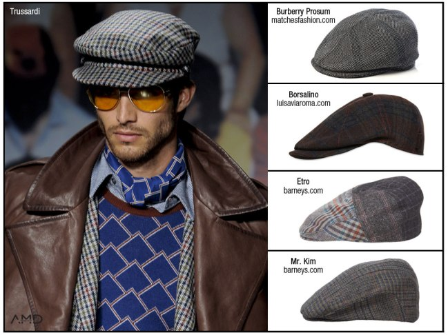 Burberry driving hat