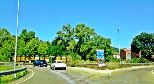 Tuscany roundabout