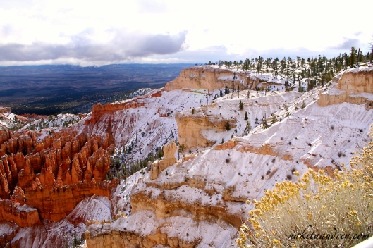 Bryce Canyon Utah winter