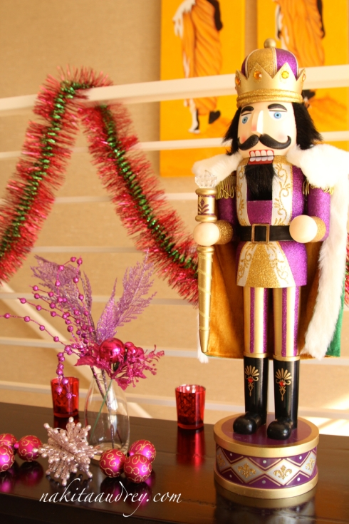 The nutcracker Christmas decoration