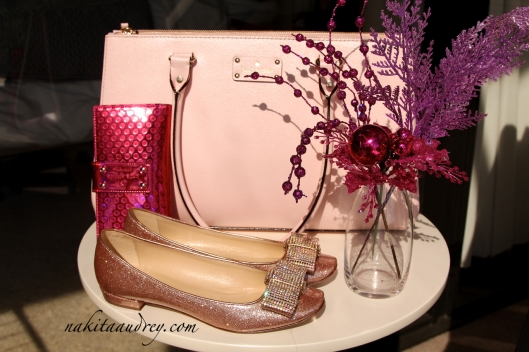 Kate Spade bag shoes wallet