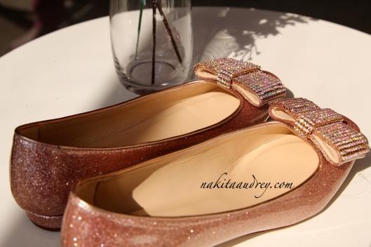 Kate Spade flat shoes ballet shoes