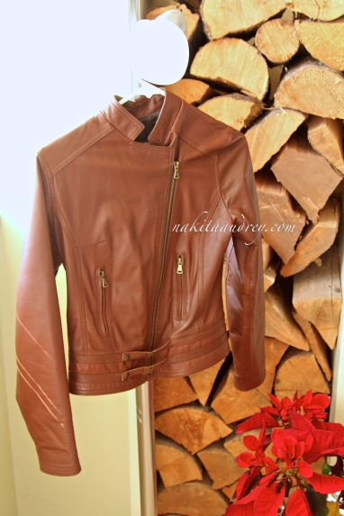 Leather jacket from Italy