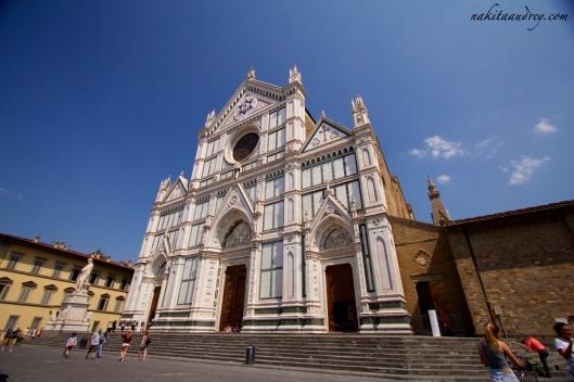 Basilica of Santa Croce Florence Italy
