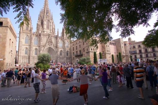 Catedral de Barcelona Spain