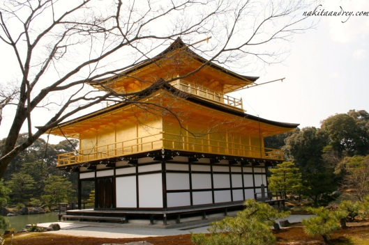 Golden Pavilion temple Kyoto