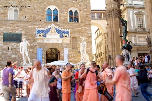 Piazza della Signora Florence Italy